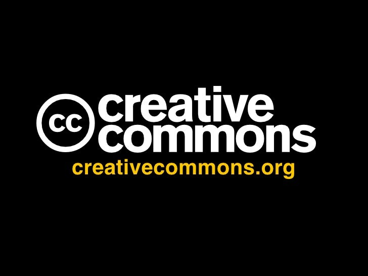 Creative Commons and Open Education
