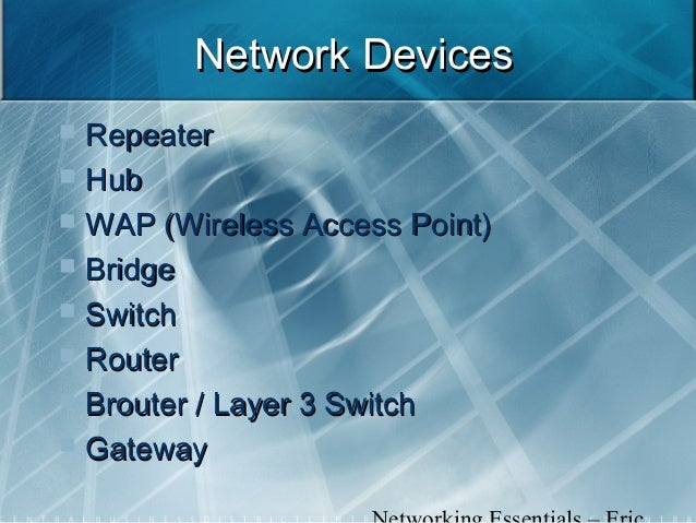 Network Repeater Device Network Devices Repeater