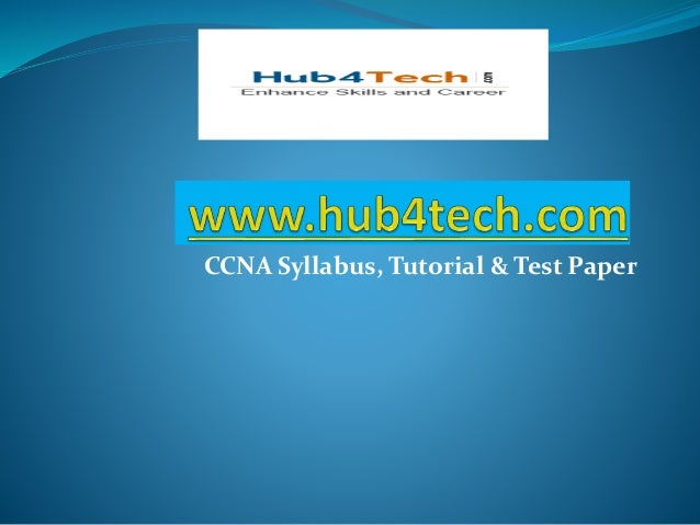 Ccna papers