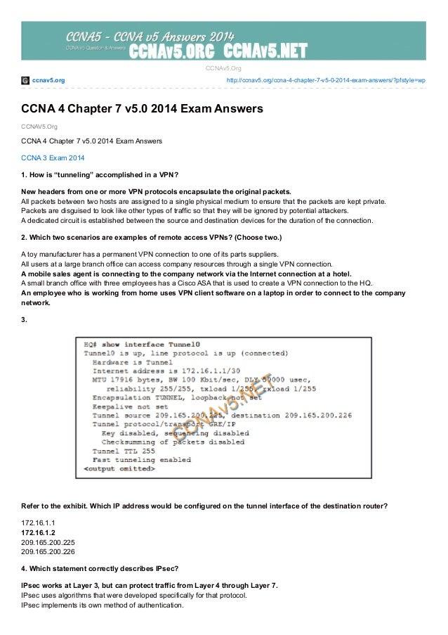 ccnav5.org http://ccnav5.org/ccna-4-chapter-7-v5-0-2014-exam-answers/?pfstyle=wp CCNAV5.Org CCNAv5.Org CCNA 4 Chapter 7 v5...