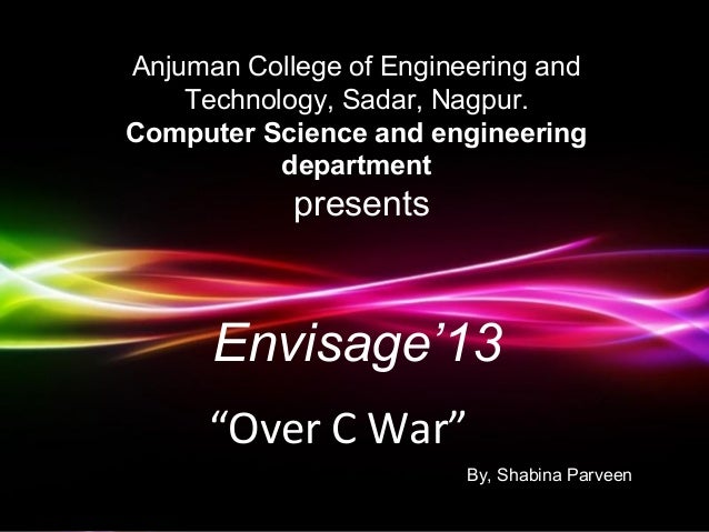 Anjuman College of Engineering and    Technology, Sadar, Nagpur.Computer Science and engineering           department     ...