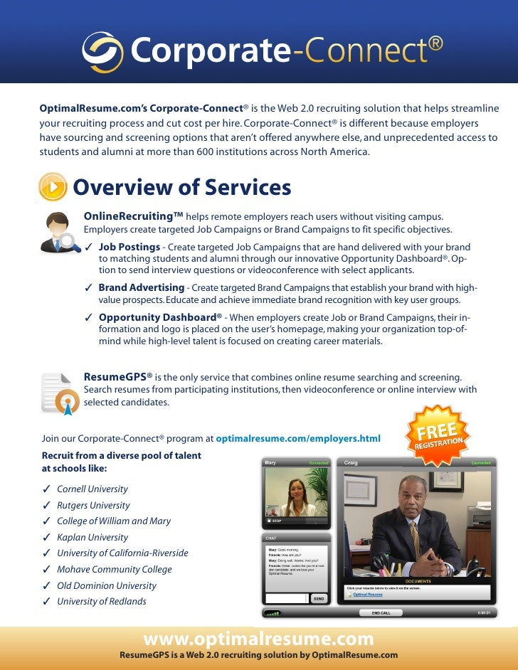 Corporate-Connect Overview of Services