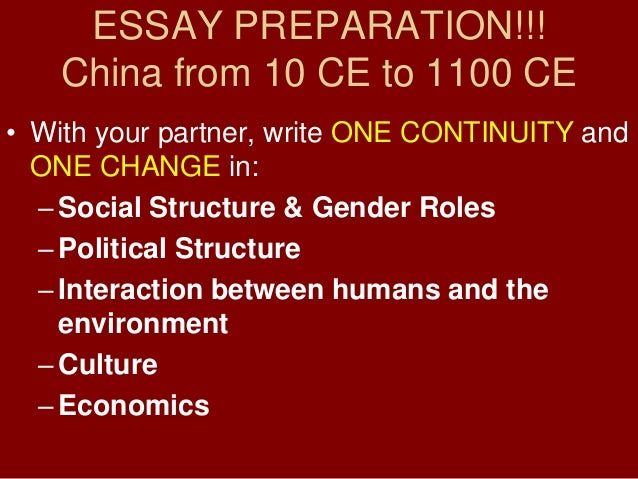 Essay about china