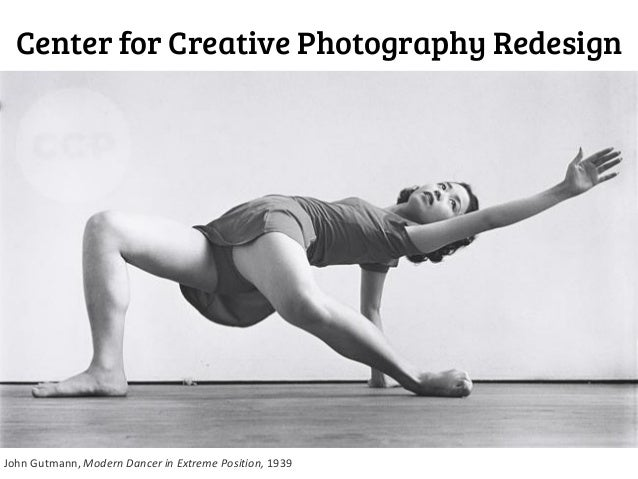 Center for Creative Photography Redesign