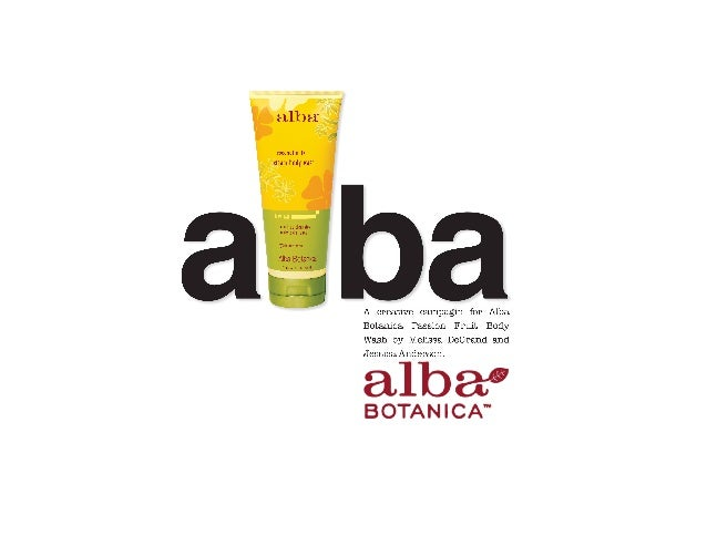What is Alba Botanica?!•    Mission: The Alba Botanica mission is to Do Beautiful.     They offer natural, 100% vegetarian...