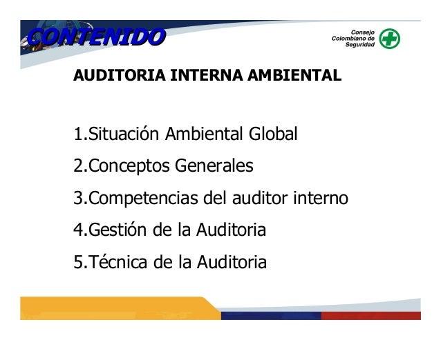Auditoria Ambiental Interna Auditoria Interna Ambiental 1