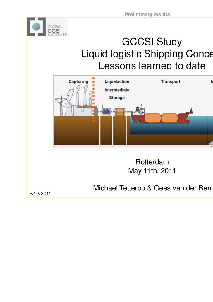 CCS - liquid logistics shipping concept - Anthony Veder Vopak