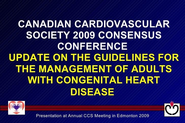 Consenso Canadiense Adultos 2009