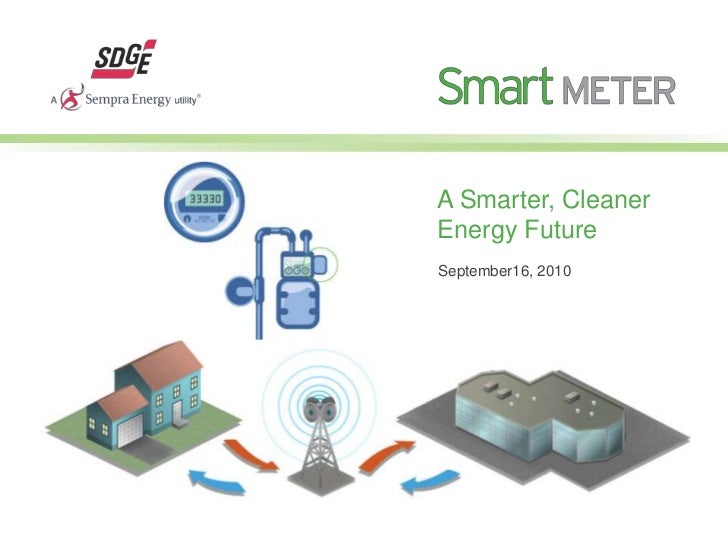 A Smarter, Cleaner Energy Future<br />September16, 2010<br />