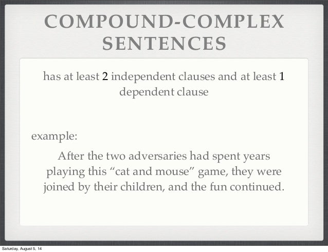 Compound Sentence Examples Related Keywords & Suggestions - Compound ...