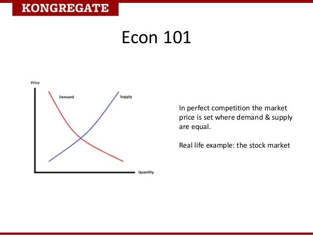 Supply And Demand Examples Real Life Real Life Example The Stock