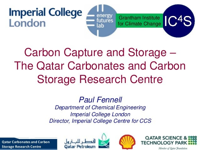 Grantham Institute                                                     for Climate Change       Carbon Capture and Storage...