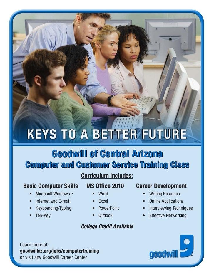 goodwill computer training calendar  details