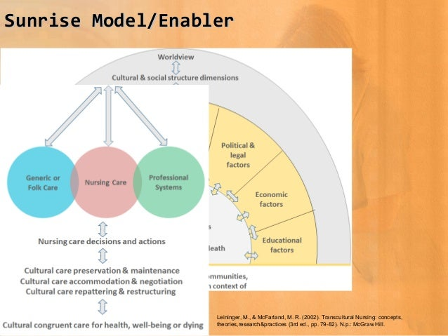 analysis of madeleine leininger s theory View this essay on leininger's theory on care and nursing leininger's establishing a strong theory of practice often requires consideration of theories from.