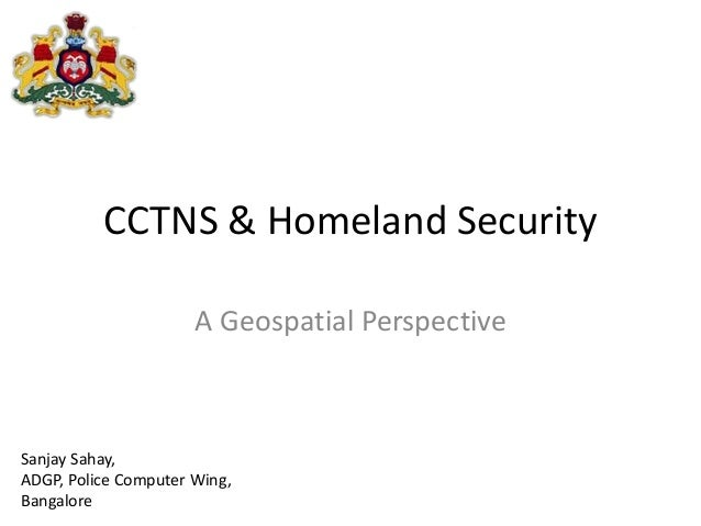 CCTNS & Homeland Security
