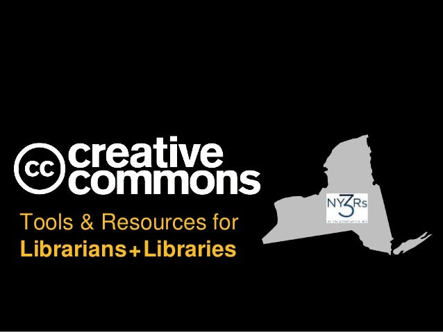 CC Tools and Resources for Librarians and Libraries