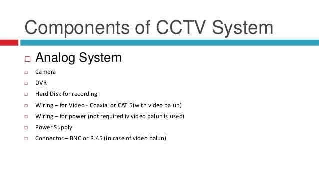 A research proposal cctv