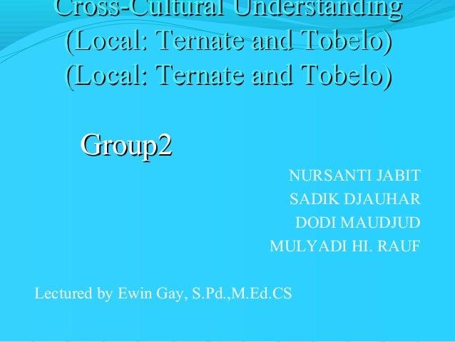 UMMU Ternate CCU Group 2 (Local: Ternate and Tobelo)