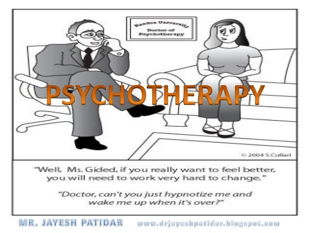 """A method of treatment based on the development of intimate (therapeutic) relationship between client & therapist for the ..."