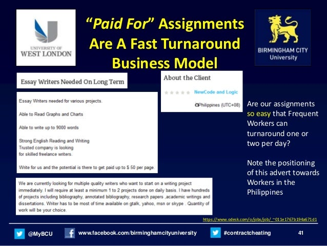 Paying for assignment writing