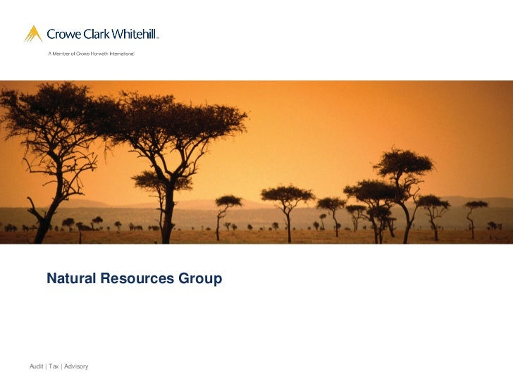 CCW Natural Resources Group
