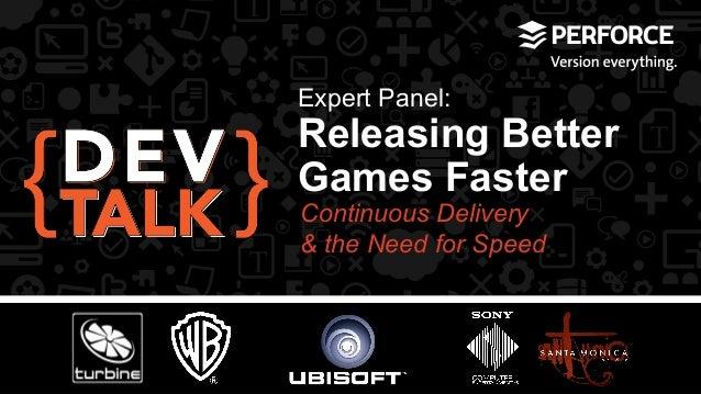Webinar: Releasing Better Games Faster