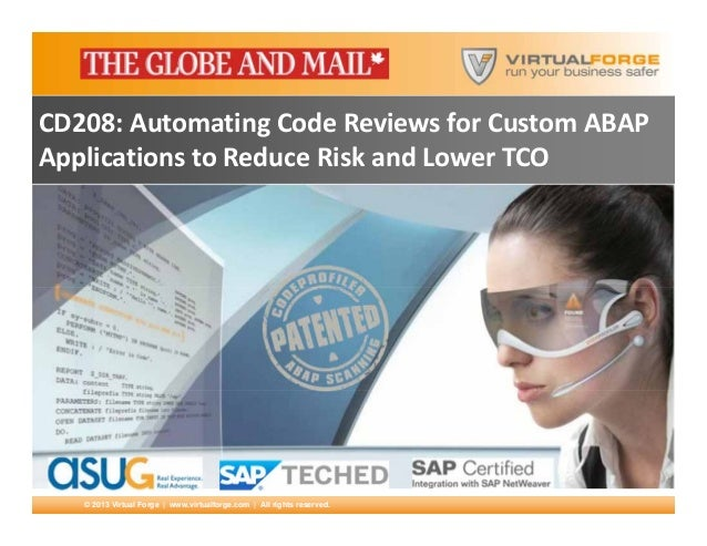 Case Study: ABAP Development Life Cycle and Governance at THE GLOBE AND MAIL (SAPTechEd)