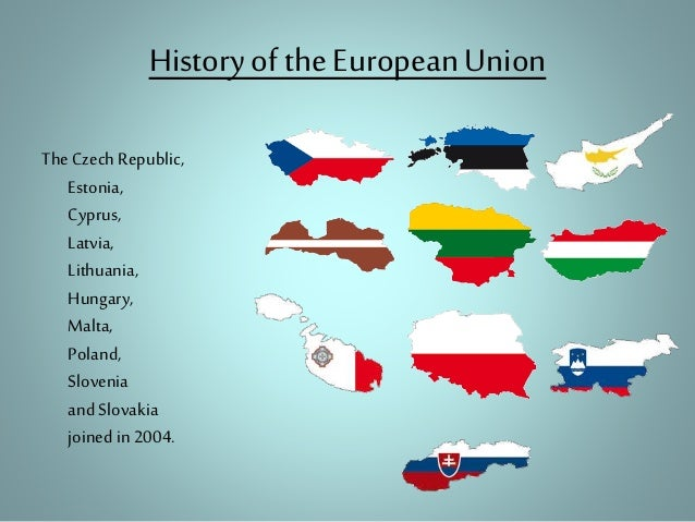 a history of the european union History of european integration initiatives of the portal innovation and modern  technology the european commission representation office in poland.