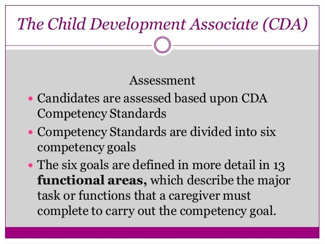cda competency goal 5 examples Competency statement vi professionalism competency statement vi professionalism essay sample i finished my bachelor's degree and now is pursuing my cda to get.