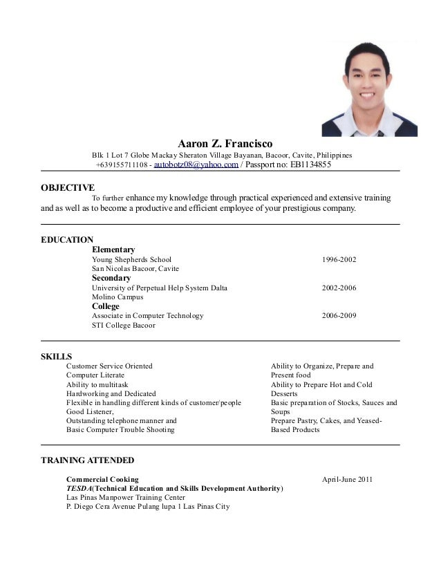 my resume updated 1