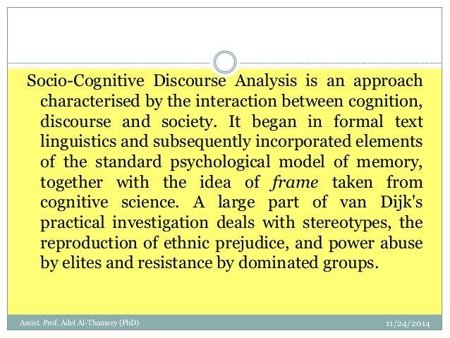 CRITICAL DISCOURSE ANALYSIS – The critical study of language (Norman Fairclough, 1997)