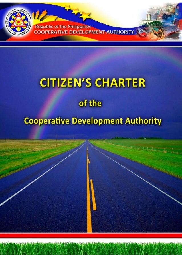 CDA Citizens Charter