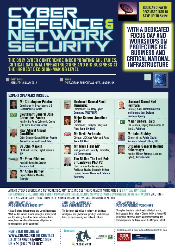 Cyber Defence & Network Security