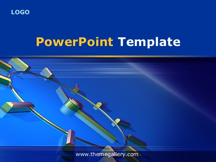 Model Template Presentation Powerpoint