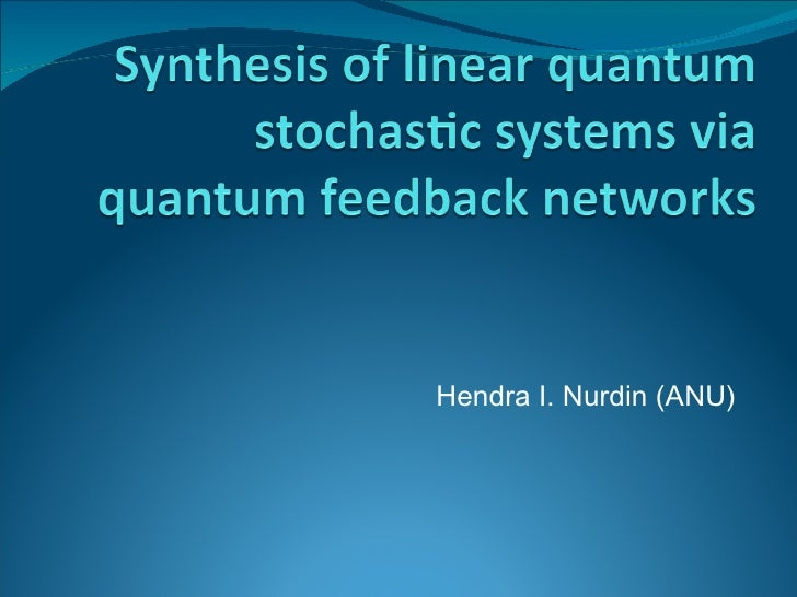 Synthesis of linear quantum stochastic systems via quantum feedback networks