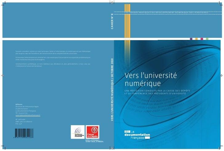 Vers l'Université Numérique