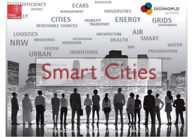 Smart Cities — Keynote de Philippe DEWOST au DigiWorld Summit de l'IDATE