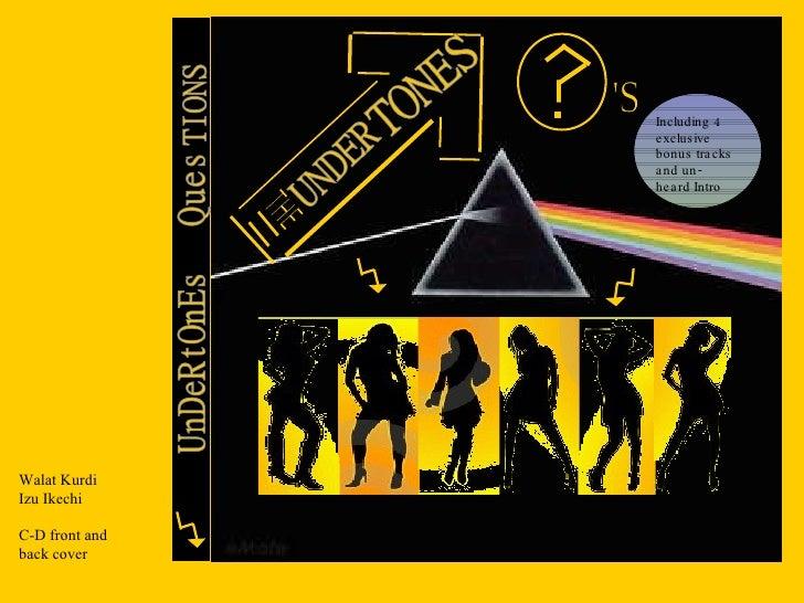 The UNDERTONES album CD cover