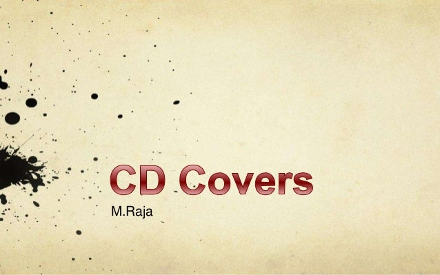CD Cover Convention. By M.Raja