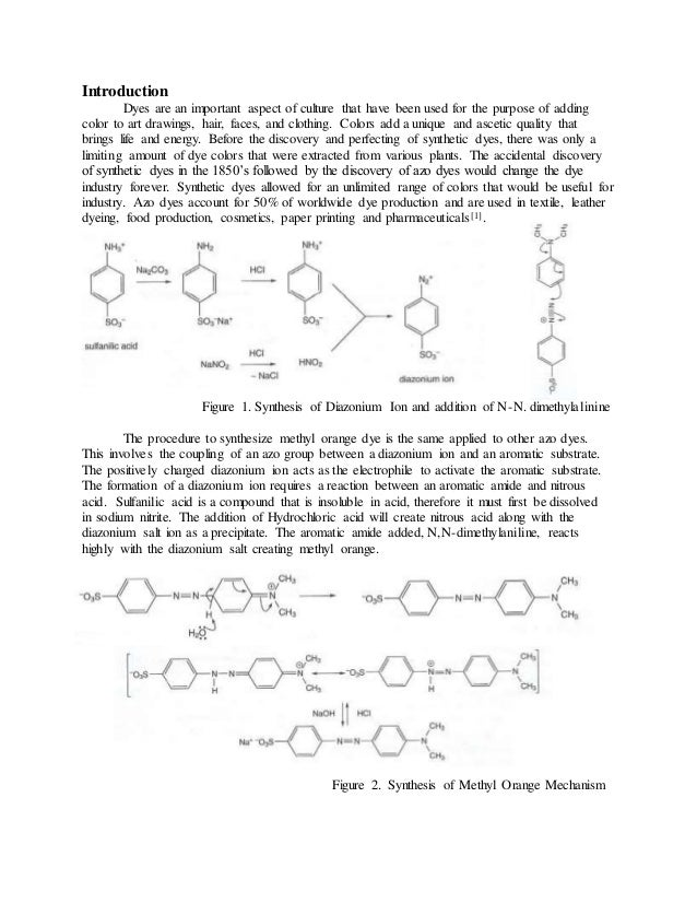 Sythesis of methyl