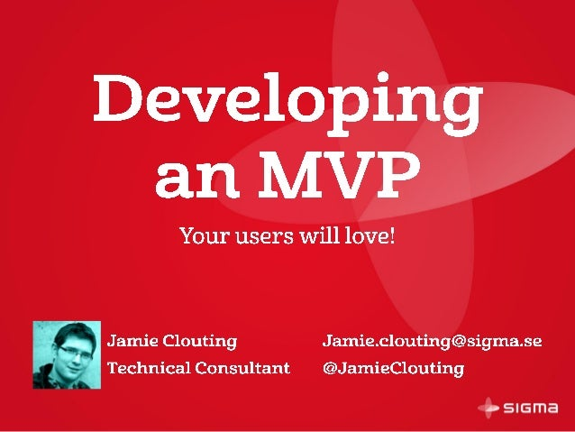 Developing an MVP your users will love
