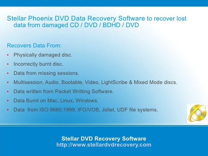 DVD Data Recovery Software