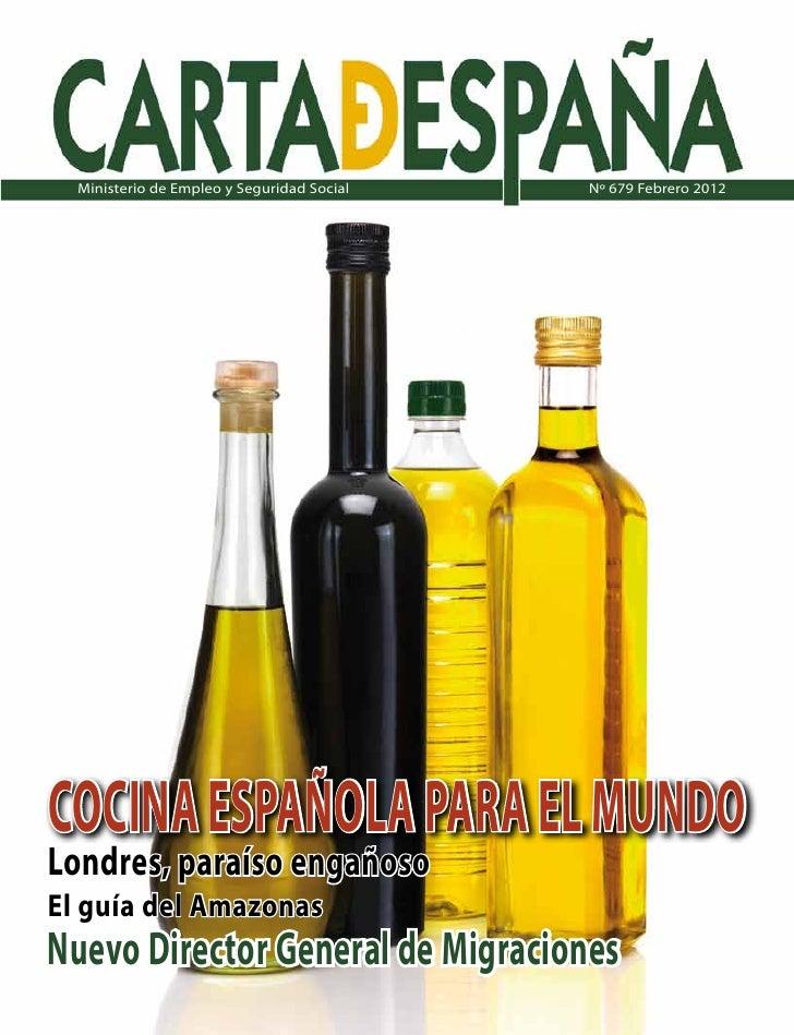 Carta de España Nº 679 Febrero 2012