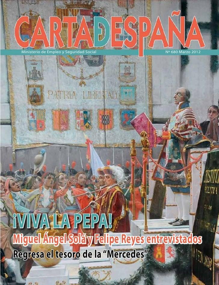 Carta de España Nº 680 Marzo 2012