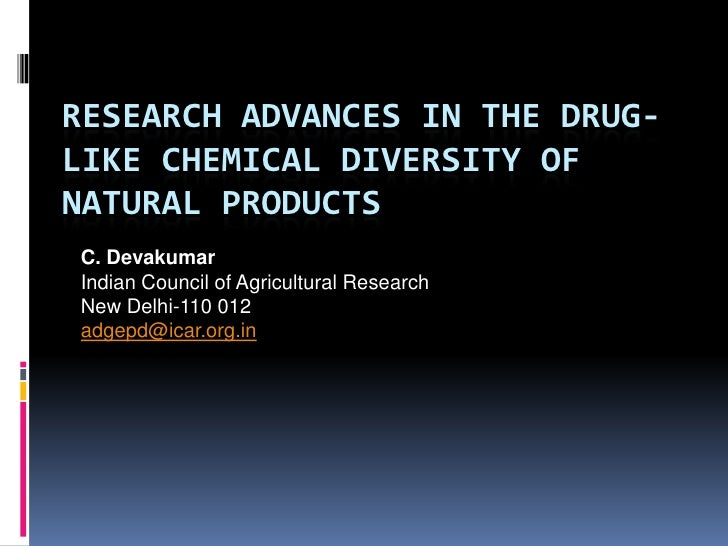 Research Avenues in Drug discovery of natural products