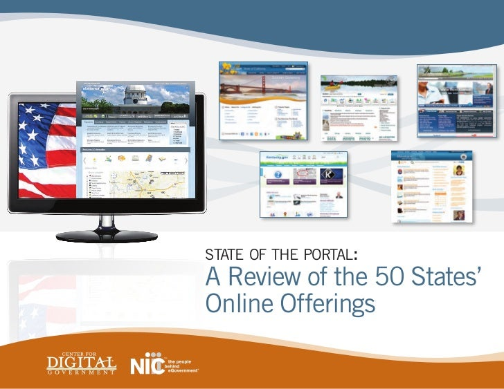 state of the portal:A Review of the 50 States'Online Offerings
