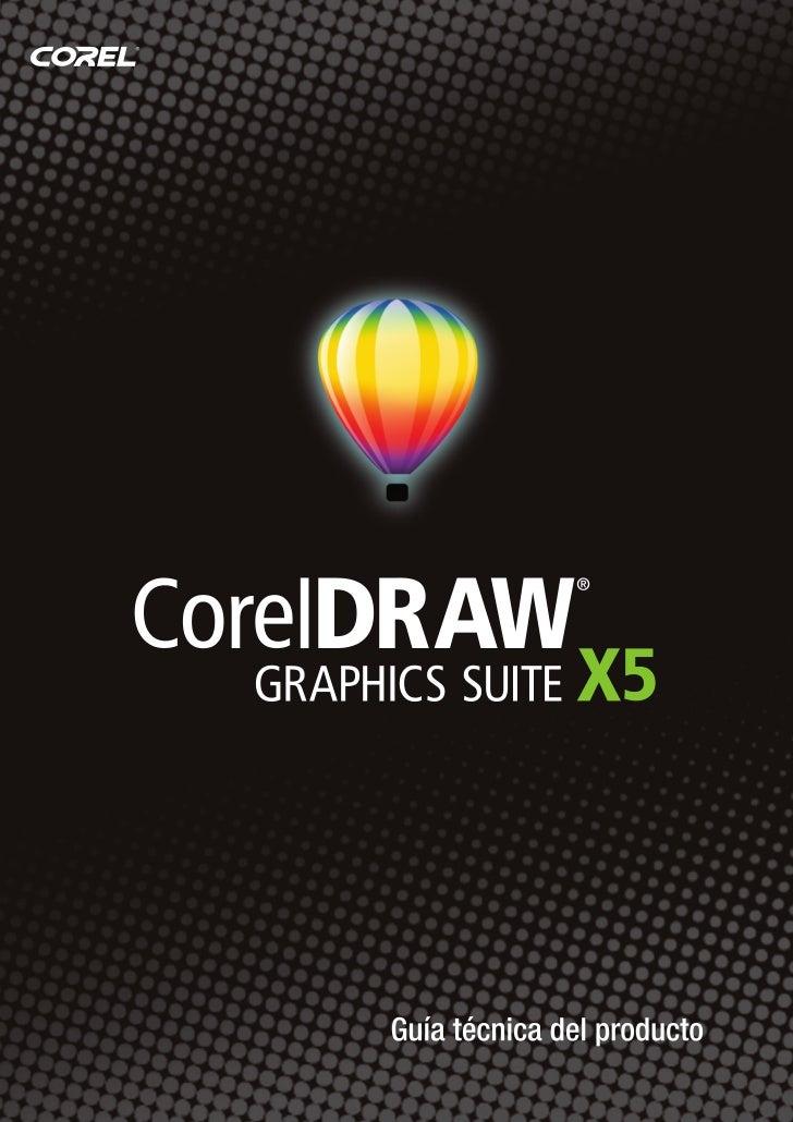 Presentación de CorelDRAW Graphics Suite X5