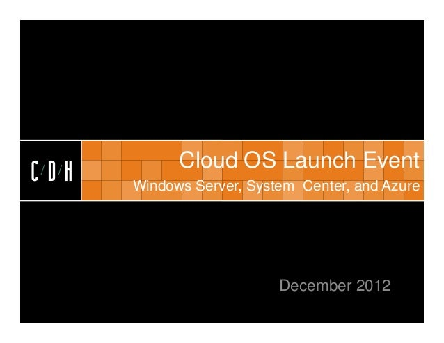 Microsoft's Cloud OS Launch, Revisited