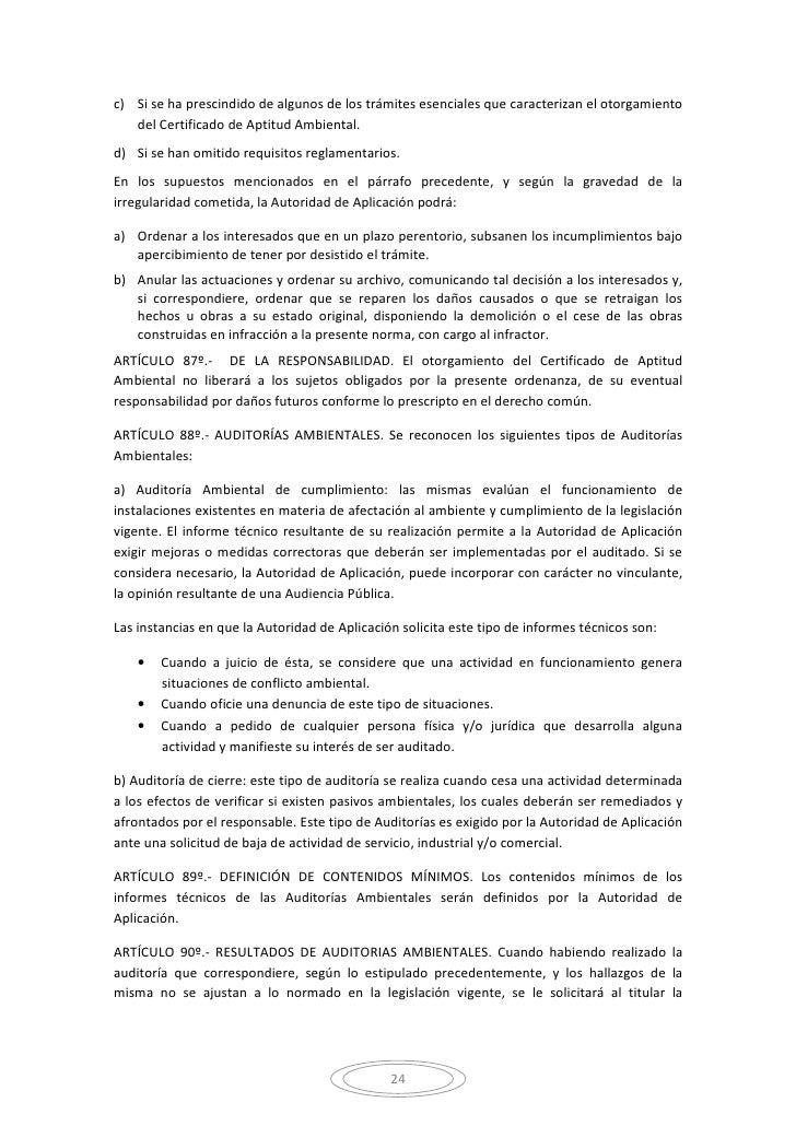 Certificado Aptitud Ambiental de Aptitud Ambiental d