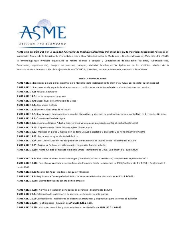 Código asme